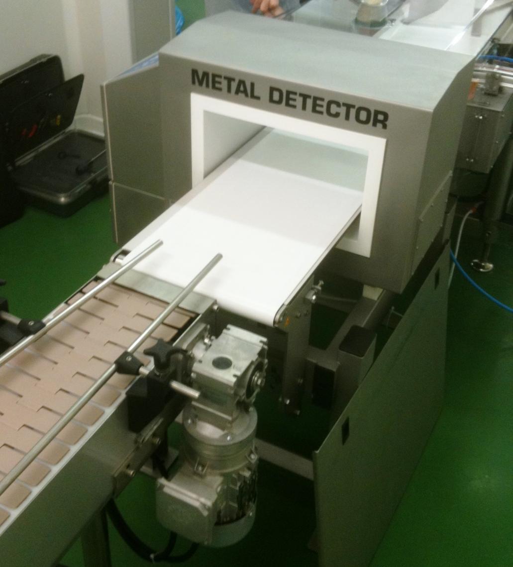 Installation d'un détecteur de métaux